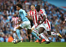 Manchester City v Stoke City - 14 Oct 2017