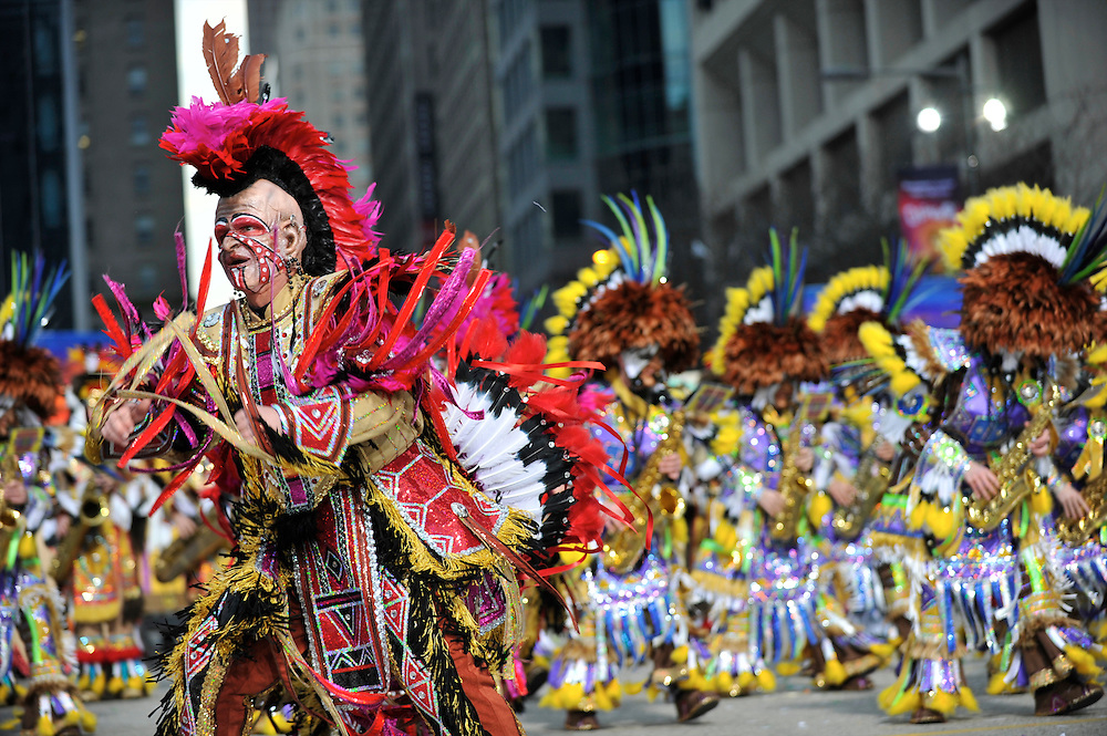 Mummers New Year's Day Parade 2010