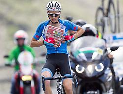 10.07.2015, Fuscher Törl, Heiligenblut, AUT, Österreich Radrundfahrt, 6. Etappe, Lienz auf das Kitzbühler Horn, im Bild (v.l.) Felix Großschartner (AUT, Team Felbermayr Simplon) am Fuschertörl 2.428m // Felix Großschartner of Austria during the Tour of Austria, 6th Stage, from Lienz to the Kitzbühler Horn, Fuscher Törl in Heiligenblut, Austria on 2015/07/10. EXPA Pictures © 2015, PhotoCredit: EXPA/ Johann Groder