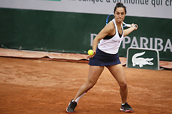 May 21, 2019 - Paris, France - Martina Trevisan during the match between Martina Trevisan of ITA vs Tereza Smitkova of CZE in the first round qualifications of 2019 Roland Garros, in Paris, France, on May 21, 2019. (Credit Image: © Ibrahim Ezzat/NurPhoto via ZUMA Press)