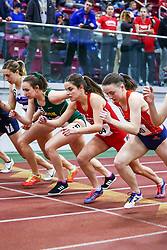 womens One Mile, 3, BU, Stephanie Casaletto <br /> Boston University Scarlet and White<br /> Indoor Track & Field, Bruce LeHane