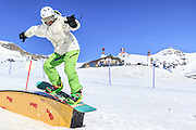 Snowboarding, Photographed in Breuil-Cervinia, Italy