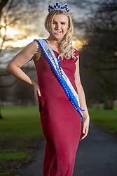 Aria Welsh, Miss Transgender UK 2019, photographed in Perth.