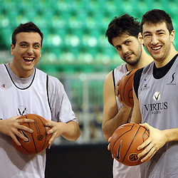 20080124: Basketball - Practice of Virtus Vidivici