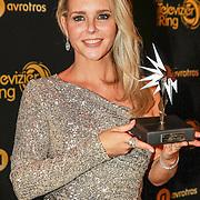 NLD/Amsterdam/20191009 - Uitreiking Gouden Televizier Ring Gala 2019, Chantal Janzen met haar 5e zilveren ster