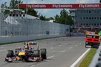 MOTORSPORT - F1 2013 - GRAND PRIX OF CANADA - MONTREAL (CAN) - 07 TO 09/06/2013 - PHOTO ERIC VARGIOLU / DPPI VETTEL SEBASTIAN (GER) - RED BULL RENAULT RB9 - ACTION