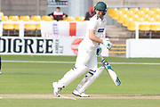 Colin Ackemann batting during the Specsavers County Champ Div 2 match between Leicestershire County Cricket Club and Lancashire County Cricket Club at the Fischer County Ground, Grace Road, Leicester, United Kingdom on 26 September 2019.