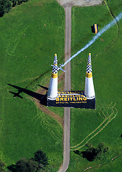 06.09.2015, Red Bull Ring, Spielberg, AUT, Red Bull Air Race, Spielberg, Rennen, im Bild Hannes Arch (AUT) // Hannes Arch of Austria during the race of Red Bull Air Race Championships 2015 at the Red Bull Ring in Spielberg, Austria on 2015/09/06. EXPA Pictures © 2015, PhotoCredit: EXPA/ JFK