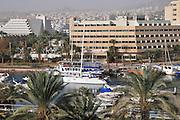 Israel, Eilat The hotel strip