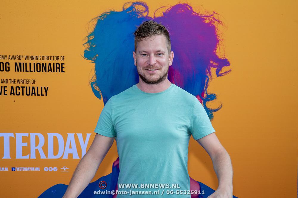 NLD/Amsterdam/20190624 - speciale voorvertoning Yesterday, Tom Afman