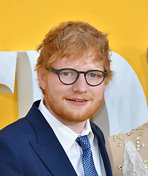 June 18, 2019 - London, London, United Kingdom - Ed Sheeran attends premiere of musical film based around the The Beatles, at Odeon Luxe Leicester Square Yesterday UK film premiere. (Credit Image: © Nils Jorgensen/i-Images via ZUMA Press)