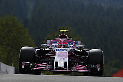 August 24, 2018 - Spa-Francorchamps, Belgium - Motorsports: FIA Formula One World Championship 2018, Grand Prix of Belgium, .#31 Esteban Ocon (FRA, Sahara Force India F1 Team) (Credit Image: © Hoch Zwei via ZUMA Wire)