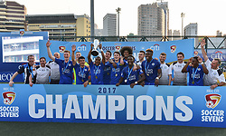 May 28, 2017 - Hong Kong, Hong Kong SAR, China - Leicester City win their second HKFC Citi Soccer Sevens title following a 3-0 victory over defending champions Aston Villa in the final.2017 Hong Kong Soccer Sevens at the Hong Kong Football Club Causeway Bay. (Credit Image: © Jayne Russell via ZUMA Wire)