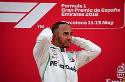 May 13, 2018 - Barcelona, Catalonia, Spain - Lewis Hamilton, team Mercedes, during the GP Spain F1, on 13th May 2018 in Barcelona, Spain. (Credit Image: © Joan Valls/NurPhoto via ZUMA Press)