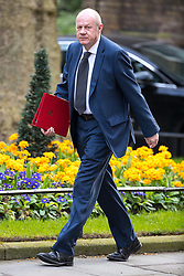 © Licensed to London News Pictures . 29/03/2017 . London , UK . DAMIAN GREEN arrives . Ministers arriving and leaving for a Cabinet meeting and Prime Minster's Questions , at 10 Downing Street , Westminster . Today (29th March 2017) the British Government will trigger Article 50 of the Lisbon Treaty and commence Britain's withdrawal from the European Union . Photo credit : Joel Goodman/LNP