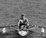 Sarasota. Florida USA. AUS. PR1 M1X. Erik HORRIE, Move's away from the start at the 2017 FISA World Rowing Championships, Nathan Benderson Park<br /> <br /> Tuesday  26.09.2017   <br /> <br /> [Mandatory Credit. Peter SPURRIER/Intersport Images].