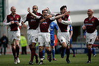 Photo: Marc Atkins.<br /> <br /> Northampton Town v Rochdale. Coca Cola League 2. 08/04/2006. Northampton Town's Scott McGliesh celebrates scoring his sides 2nd goal