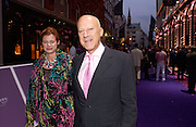 Lord and Lady Norman Foster, Asprey Store relaunch party after rebuilding. New Bond St. 18 May 2004. ONE TIME USE ONLY - DO NOT ARCHIVE  © Copyright Photograph by Dafydd Jones 66 Stockwell Park Rd. London SW9 0DA Tel 020 7733 0108 www.dafjones.com