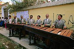 Marimba Band At Santa Ana