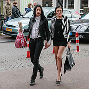 NLD/Amsterdam/20130503 - Boekpresentatie La Paay van Patricia Paay, Ellen Bandita en partner Christina Curry