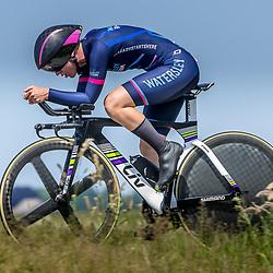 EMMEN (NED) June 16: <br />CYCLING <br />Dutch Nationals Time Trail Women Elite Manon de Boer