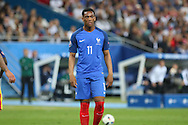 France Forward Anthony Martial during the Group A Euro 2016 match between France and Romania at the Stade de France, Saint-Denis, Paris, France on 10 June 2016. Photo by Phil Duncan.