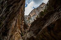 The Gorropu Canyon, Sardinia, Italy