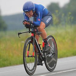 KNOKKE HEIST (BEL) July 10 CYCLING: <br /> 3th Stage Baloise Belgium tour Time Trial: Rachele Barbieri