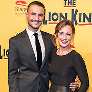 NLD/Scheveningen/20161030 - Premiere musical The Lion King, Anouk Maas en ..............