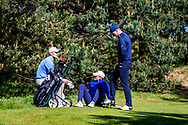 11-05-2019 Foto's NGF competitie hoofdklasse poule H1, gespeeld op Drentse Golfclub De Gelpenberg in Aalden. De Hoge Kleij 1 - Bob Geurts en Houtrak 1 - Mike Korver moeten wachten