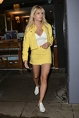 Lottie Moss Arrives to a Party - 21 March 2018