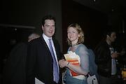 GEORGE AND FRANCES OSBORNE, Royal Festival Hall First Night Gala. Southbank Centre. London. 11 June 2007.  -DO NOT ARCHIVE-© Copyright Photograph by Dafydd Jones. 248 Clapham Rd. London SW9 0PZ. Tel 0207 820 0771. www.dafjones.com.