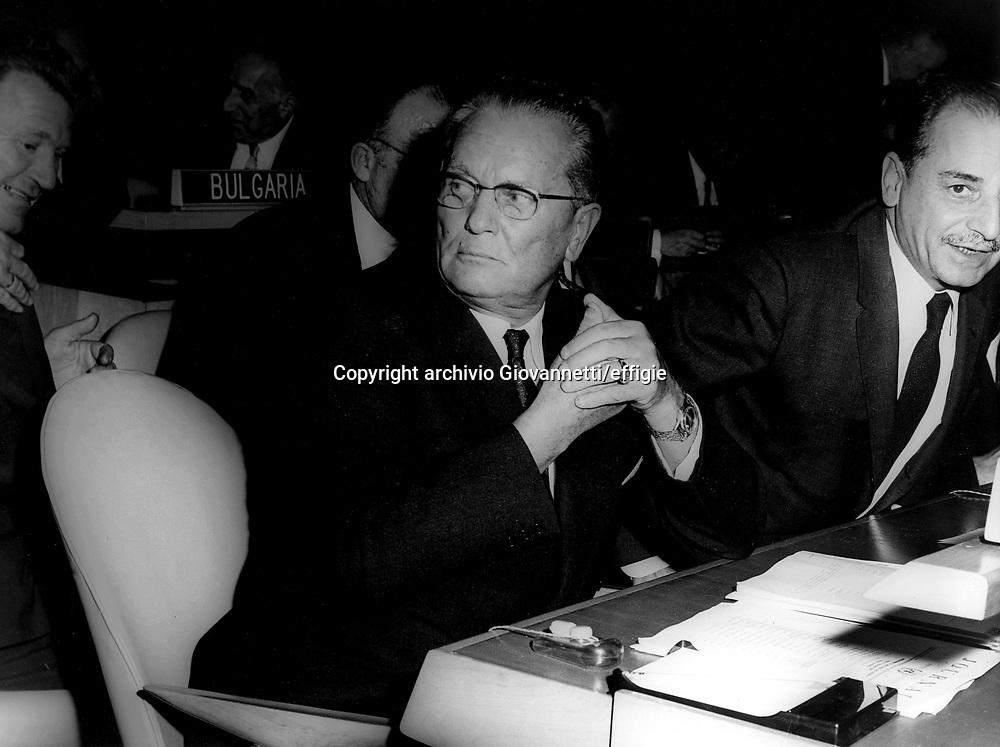 Tito Josip Broz<br />archivio Giovannetti/effigie