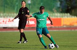 Amir Karic of Olimpija  at final match of 2nd SNL league between NK Olimpija in NK Aluminij, on May 23, 2009, ZAK, Ljubljana, Slovenia. Aluminij won 2:1. NK Olimpija is a Champion of 2nd SNL and thus qualified to 1st Slovenian football league for season 2009/2010. (Photo by Vid Ponikvar / Sportida)