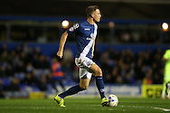 Birmingham City defender Michael Morrison (28) during the Sky Bet Championship match between Birmingham City and Brighton and Hove Albion at St Andrews, Birmingham, England on 5 April 2016.