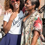 NLD/Amsterdam/20160908 - Talkies Lifestyle lunch 2016, Jasmine Sendar en Edsilia Rombley