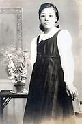 youg girl portrait Japan ca 1940s