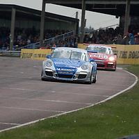 #10 Porsche GT3 Cup - SAS Redline Racing (Driver - James Sutton), Carrera Cup Thruxton 2011