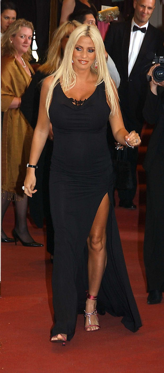 KATIE PRICE - model Jordan at the 2005 British Book Awards held at The Grosvenor House Hotel, Park lane, London on 20th April 2005.<br /><br />NON EXCLUSIVE - WORLD RIGHTS