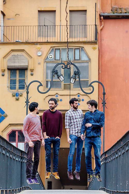 Sessio de Els Amics de les Arts per promocionar el Festivalot, festival de musica infantil i familiar de Girona.