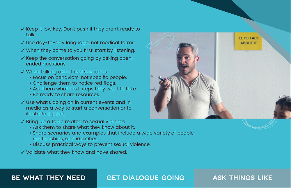"""""""It Starts with Us"""" - Campaign for the New Mexico Coalition of Sexual Assault Programs"""