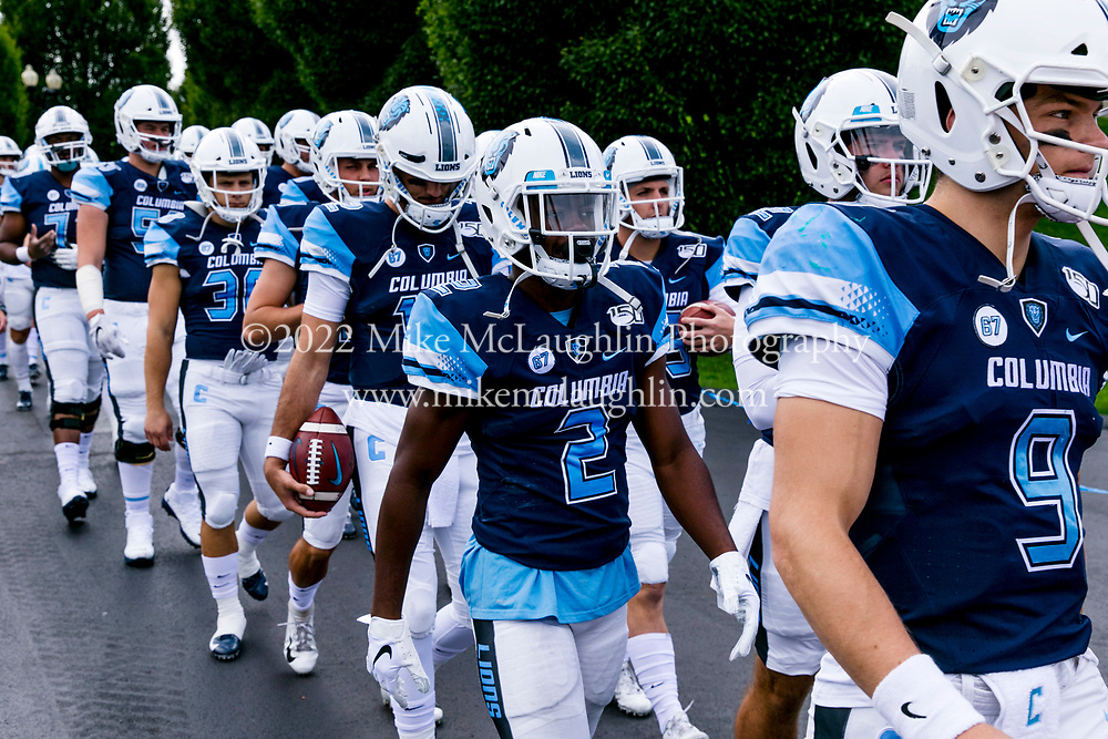 October 12, 2019 New York, NY<br /> Columbia University football v. Central Connecticut State University.<br /> 2019 Mike McLaughlin<br /> https://mclaughlin.photoshelter.com/<br /> Mike McLaughlin