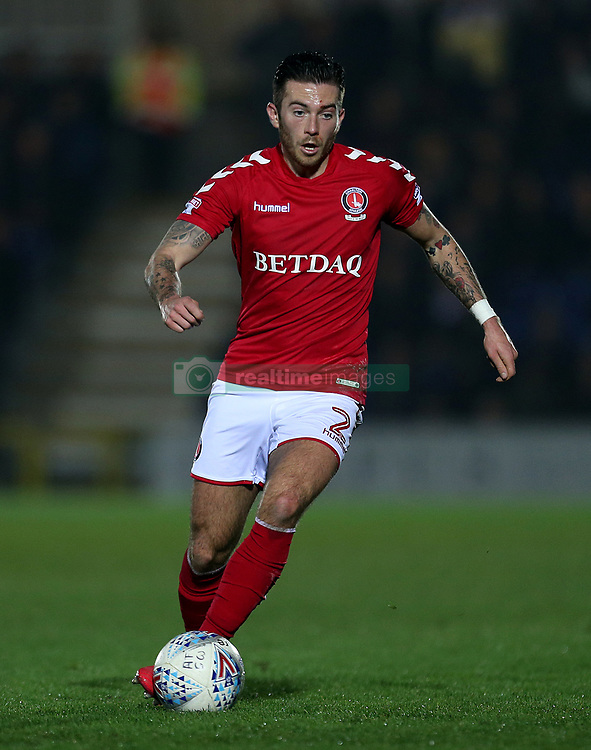 Charlton Athletic's Lewis Page in action