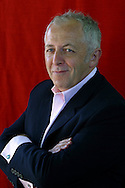 The BBC's former Middle East correspondent Jeremy Bowen, pictured at the Edinburgh International Book Festival, where he talked about his new book which looks at the 1967 Arab-Israeli Six Day War. The book festival was a part of the Edinburgh International Festival, the largest annual arts festival in the world.