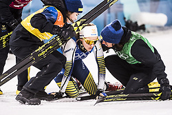 February 17, 2018 - Pyeongchang, Sydkorea - Charlotte Kalla, Ebba Andersson and Stina Nilsson - Sweden..Women's Cross Country skiing 4x5km Relay, PyeongChang 2018 Olympic Games, 2018-02-17..(c) ORRE PONTUS  / Aftonbladet / IBL BildbyrÃ¥....* * * EXPRESSEN OUT * * *....AFTONBLADET / 85527 (Credit Image: © Orre Pontus/Aftonbladet/IBL via ZUMA Wire)