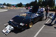 1985 Lamborghini Countach at the WAAAM Traffic Jam.