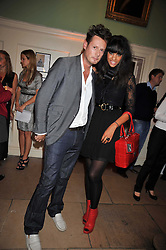Model JOY VIELI and designer PERCY PARKER at the launch of Quintessentially Soho at the House of St Barnabas, 1 Greek Street, London on 29th September 2009.<br /> <br /> <br /> <br /> <br /> BYLINE MUST READ: donfeatures.com<br /> <br /> *THIS IMAGE IS STRICTLY FOR PAPER, MAGAZINE AND TV USE ONLY - NO WEB ALLOWED USAGE UNLESS PREVIOUSLY AGREED. PLEASE TELEPHONE 07092 235465 FOR THE UK OFFICE.*