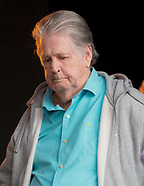 Brian Wilson at camp bestival