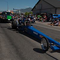 People in Butte, Montana celebrate the Fourth of July with a parade.