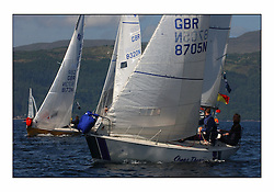 Bell Lawrie Series Tarbert Loch Fyne - Yachting.The third day's inshore races, which transpired to be the last...Sonata GBR8705N Chaos Theory.